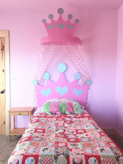 Crown Headboard princess bed crown headboard and valance ebay
