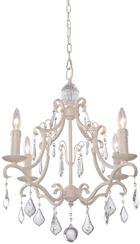 artcraft cl1574aw vintage antique white mini lighting