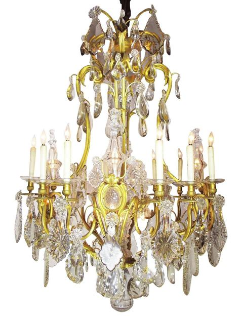 19th century gilt bronze and chandelier from the