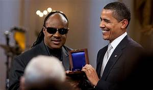 Stevie Wonder Will Join Obama At Kissimmee Rally This