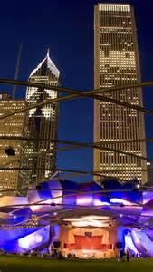 Millennium Park Chicago at Night