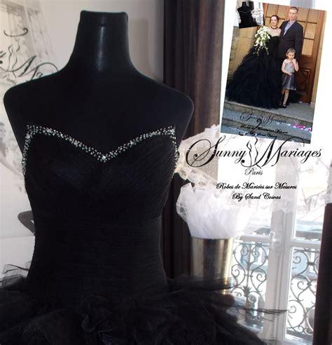 robe de mariée bustier strass robes de mariage noir ou en mouchoir de tulle