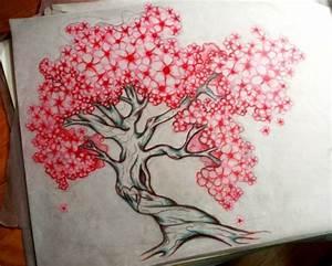Tatouage Arbre Japonais : image de tattoo cerisier japonais ~ Melissatoandfro.com Idées de Décoration