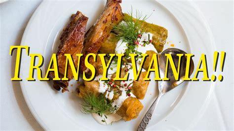 cuisine r騁ro food in transylvania romania