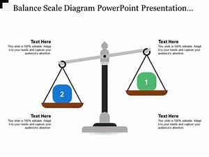 Balance Scale Diagram Powerpoint Presentation Templates