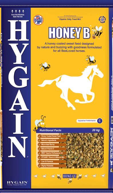 hygain honey b natural honey coated sweet horse feed