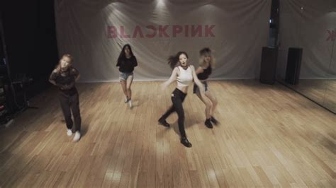 Black Pink Drop A Dance Practice Video For 'whistle
