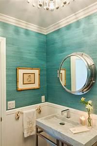 Couleur Mur Salle De Bain : plonger dans la couleur turquoise et colorer la maison ~ Dode.kayakingforconservation.com Idées de Décoration