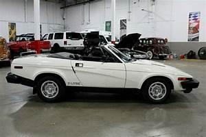 1980 Triumph Tr7 59150 Miles White 2 0l 4 Cylinder Manual