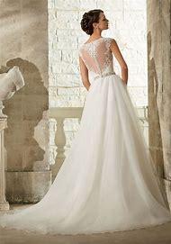 Mori Lee Ball Gown Wedding Dress