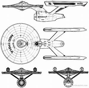 Blueprints  Uss Enterprise Ncc