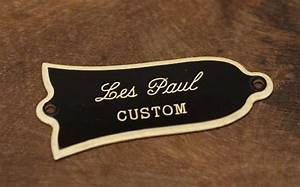 Vintage 50 U2019s Style Gibson Les Paul Custom Guitar Truss Rod