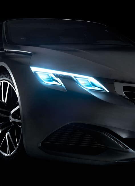 Peugeot Exalt Concept Headlight Design  Car Body Design