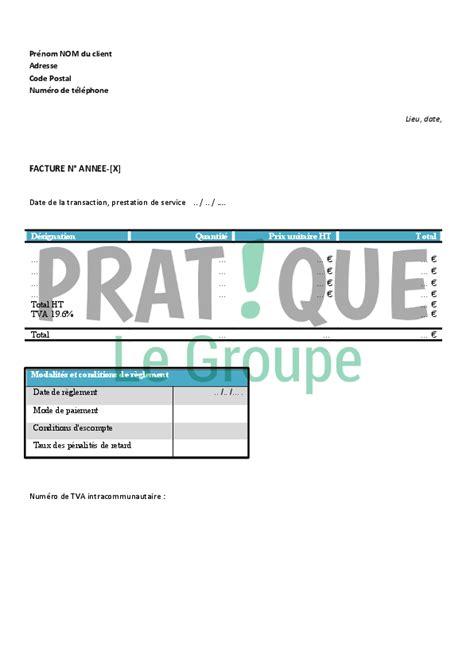 location de siege auto modèle de facture pratique fr