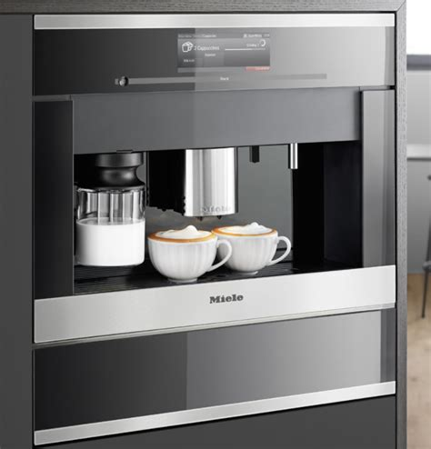 cva6805 miele coffee maker 24 inch m touch controls plumbed built in