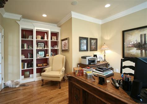 country traditional home office