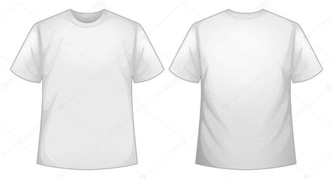tshirt recto biała koszula grafika wektorowa interactimages 70361693