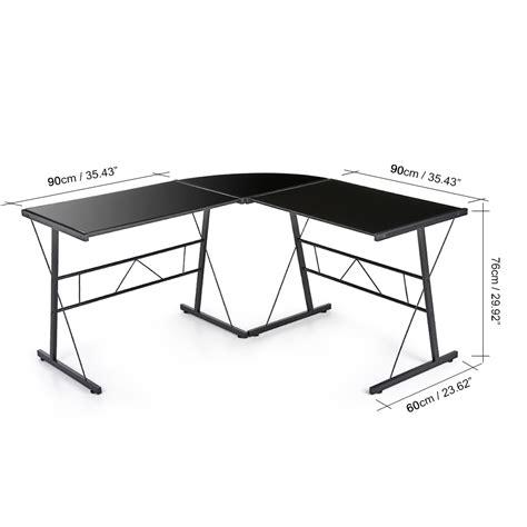 bureau d angle verre bureau d angle verre trempé bureau d angle haut lepolyglotte