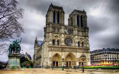 Paris Dame Notre Parigi Cathedral France Cattedrale