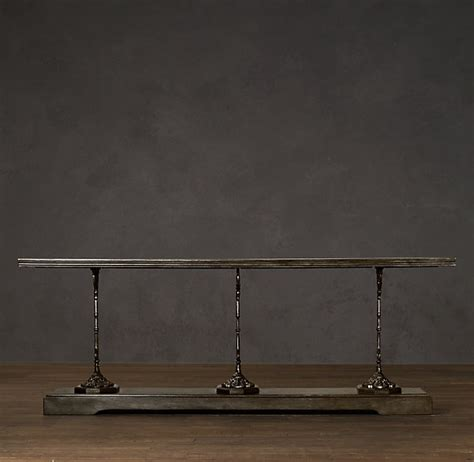 restoration hardware sofa table 17 best images about consoles on pinterest foyer tables