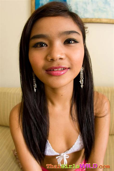 Little Petite Thai Teen Panni Strips Down To Show Off Her Amazing Perky Nipples