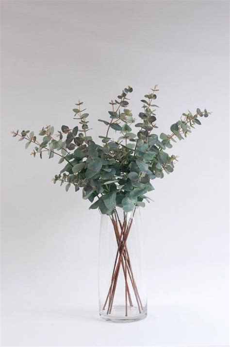 matilda artificial eucalyptus bouquet portrait