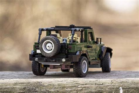lego jeep wrangler ready  park   showcase