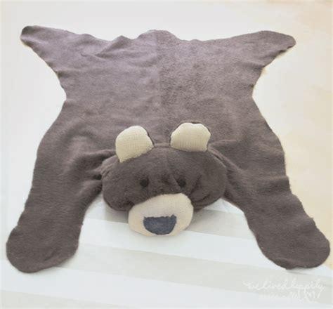 tapis peau d ours fausse peau d ours