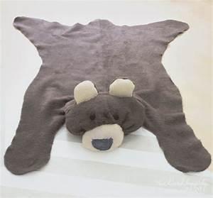 diy comment faire un tapis enfant facilement With tapis tete d ours