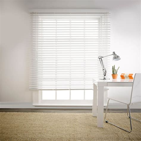 Privacy Blinds by Beaumont 90x210cm Privacy Blind White Freedom Style