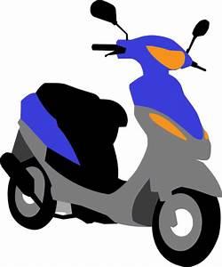 Scooter Clip Art at Clker.com - vector clip art online ...