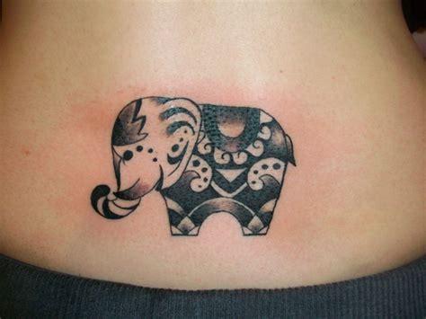 Tribal Elephant Tattooanimal Tattooanimal Tattoo