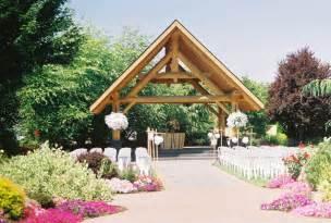 outdoor wedding venue log house garden outdoor wedding venue pictures