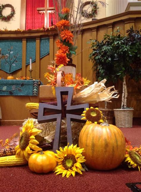 harvest decorations 17 best images about harvest display for church on pinterest altar decorations joan of arc