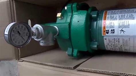 How Does A Deep Well Jet Pump Work Goulds Problems Video