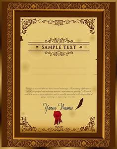 Certificate borders free vector download (6,001 Free ...
