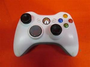Wireless Controller White For Xbox 360