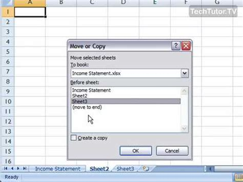 move  copy  worksheet  excel  youtube