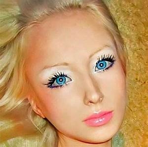 Photos Of Valeria Lukyanova The Human Barbie, Without Makeup