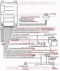 Avital 5305l Wiring Diagram