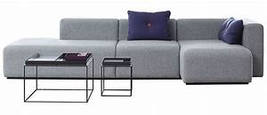 mags corner sofa l 302 cm right armrest light grey With canape angle 230