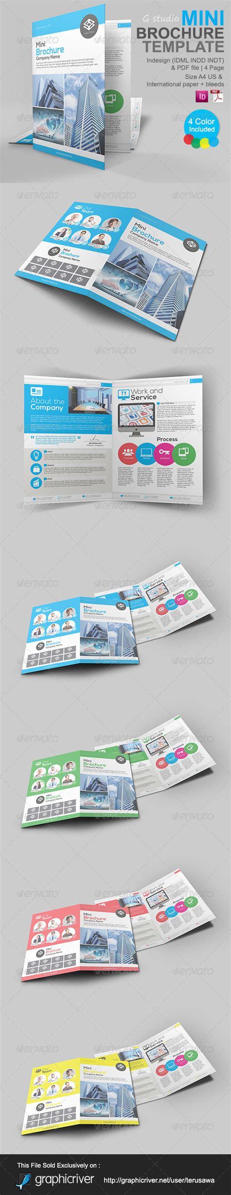 gstudio mini brochure template by terusawa graphicriver