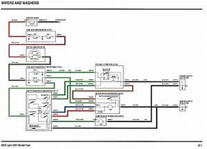 Windscreen Wiper Motor Wiring Diagram