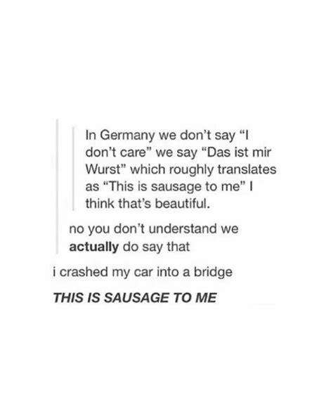 dopl3r.com - Memes - In Germany we dont say I dont care we