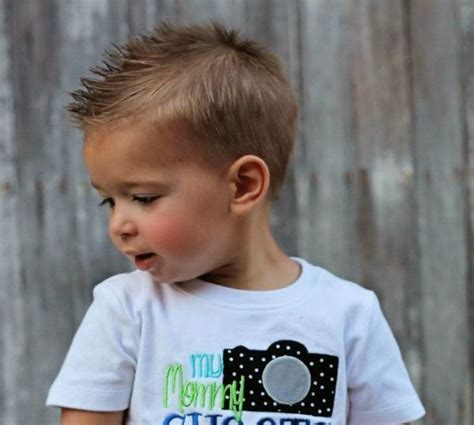 30 toddler boy haircuts for amp stylish guys 512 | spiked faux hawk
