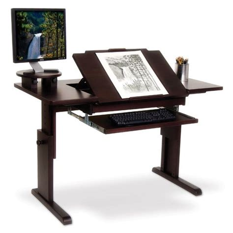 ah art desk for traditional or computer art home
