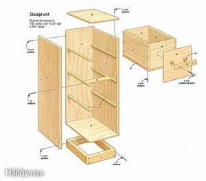 DIY Garage Storage: Super Sturdy Drawers The Family Handyman