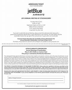 Benefits Administrator Cover Letter Jetblue Airways Corporation 2013 Proxy Statement 57