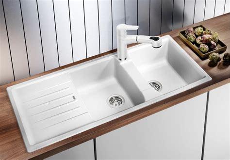 white inset kitchen sink coloured granite inset kitchen sinks blanco kitchen 1319