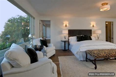 la chambre coucher megan fox photos de sa maison à los angeles melty fr